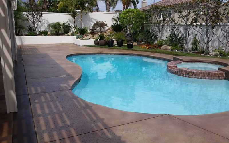 Concrete Staining in Orange County